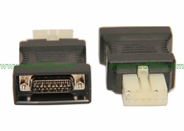 HDB26P Male to Hyundai/Mitsubishi-12Pin Adapter-all OBD1