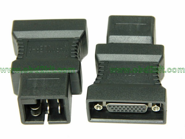 HDB26 Female to Chrysler-6Pin Adapter-all OBD1 OBD2 cable,connector