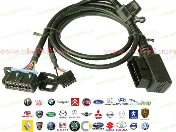 Vehicle OBD GPS Tracking Cables-all OBD1 OBD2 cable,connector,adapter